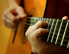 Испанская классическая гитара