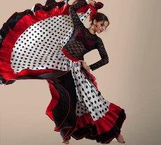 Юбка для фламенко