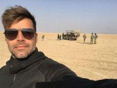 Рики Мартин на отдыхе в Африке с сыновьями и бойфрендом
