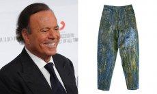 Певец Хулио Иглесиас беженцам отдал свои любимые джинсы